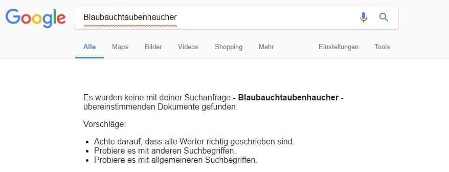 """Suchanfrage mit dem Wort """"Blaubauchtaubenhaucher"""""""
